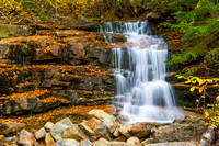 10-04-13 Waterfalls - Falling Waters Trail - Little Haystack Mountain - Franconia Notch, NH