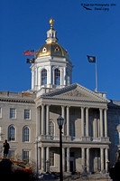1003PS The NH State Capital Building - Concord, NH 11-23-16