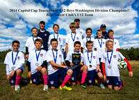 2014 Capitol Cup - U12 Boys - Bow Soccer Club