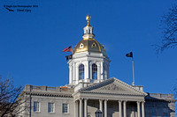 1002PS The NH State Capital Building - Concord, NH 11-23-16