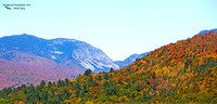 1016PS A distant View of Cannon Mountain - Photographed from the top of the Tripoli Road Exit Ramp - North Woodstock, NH 10-14-16