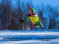 2014 USSA NH State Championship Race - 2nd Run SL - Mount Sunapee, NH