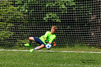 1003PS Kyle Stands ready at the goal line awaiting the final penalty kick... he stops this, his team takes the championship - Seacoast United Summer Challenge 2017 - Bowdoin College - Brunswick, ME 06